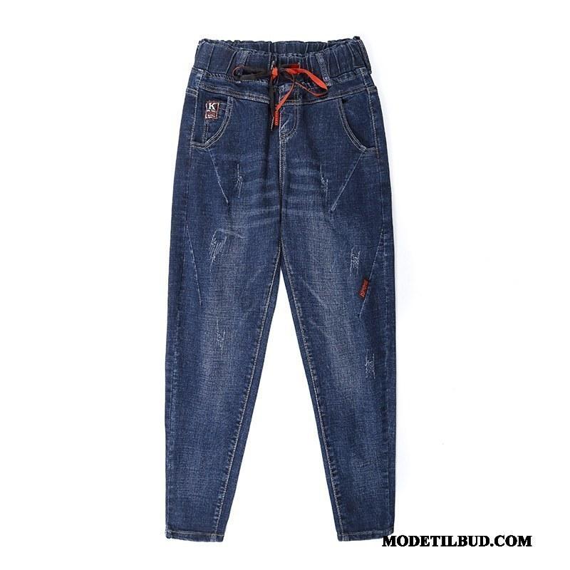 Dame Bukser På Udsalg Cowboybukser Jeans Brede Fritids Kvinder Harlan Blå