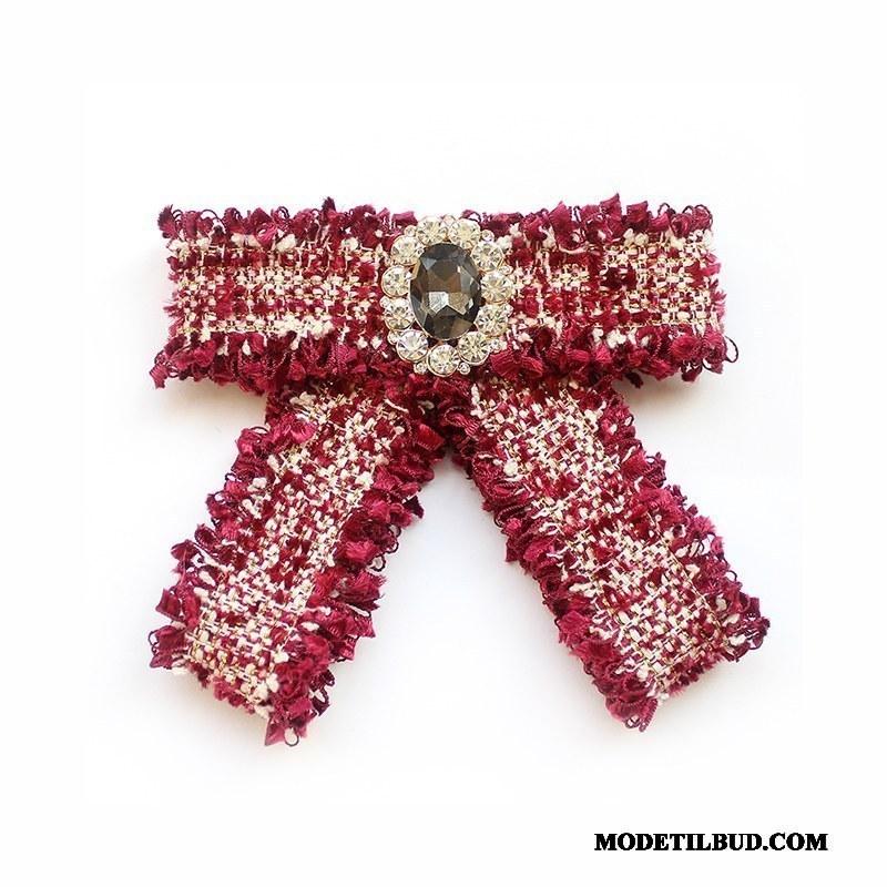 Dame Butterfly Salg Kvinder Duftende Lille Tilbehør Elegante Rød