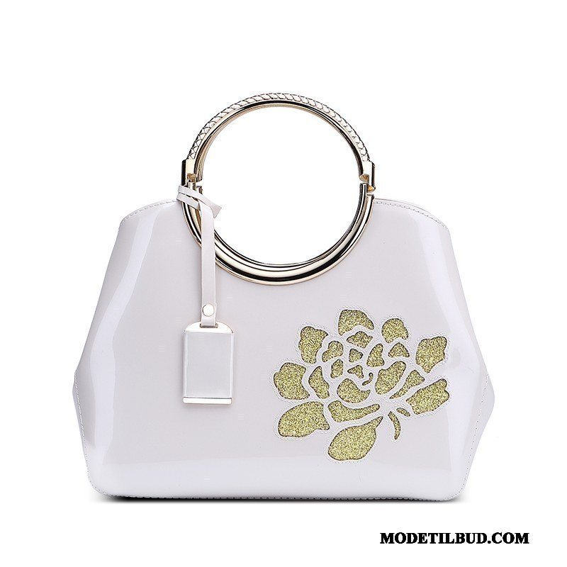 Dame Håndtasker Billig Mode Store Tasker Casual 2019 Mor Hvid