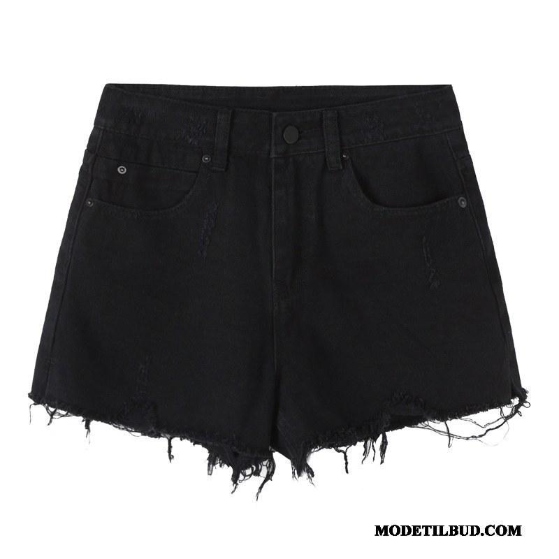 Dame Shorts Billige Hot Bukser Sommer Studerende Fritids 2019 Sort