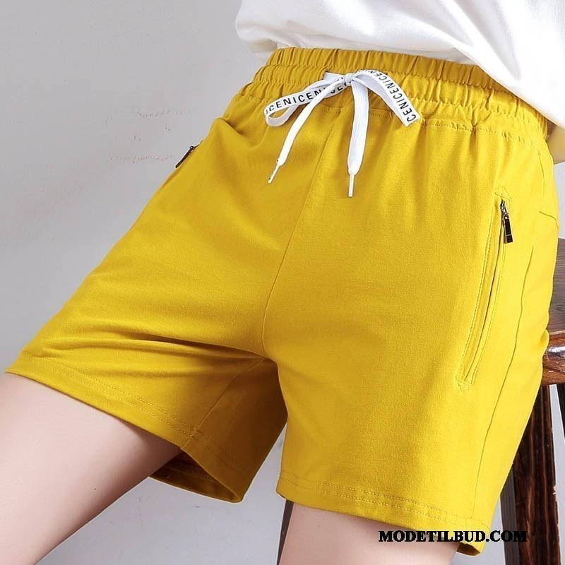 Dame Shorts Tilbud Kvinder Hot Bukser 2019 Brede Ny Gul