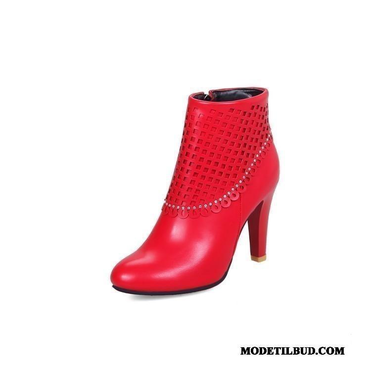 Dame Bikerstøvler : Billig Damesko & dametøj Online