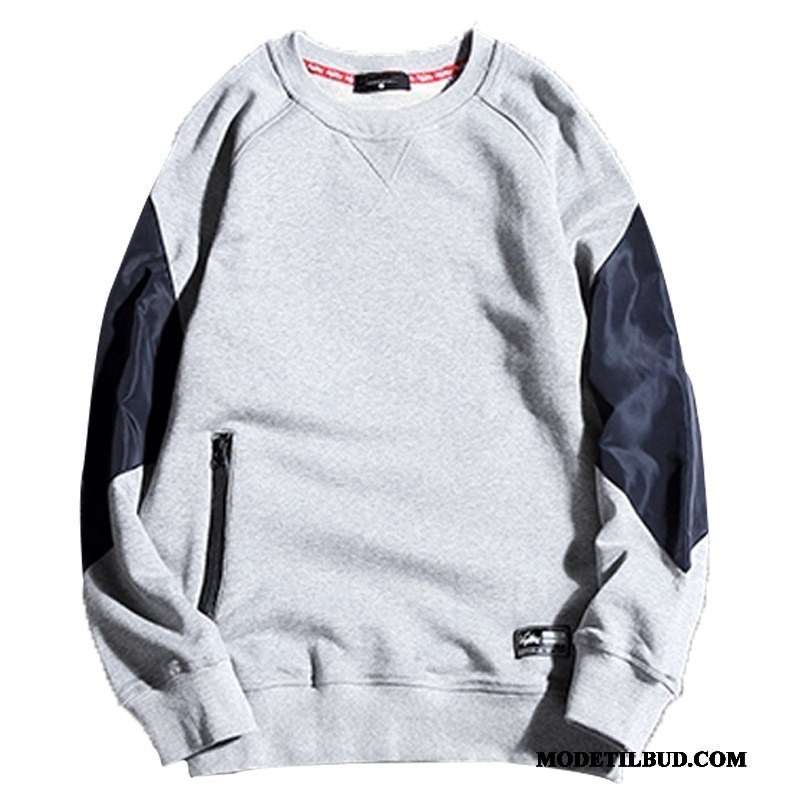 Herre Hættetrøjer Billig Store Størrelser Smuk Fede Frakke
