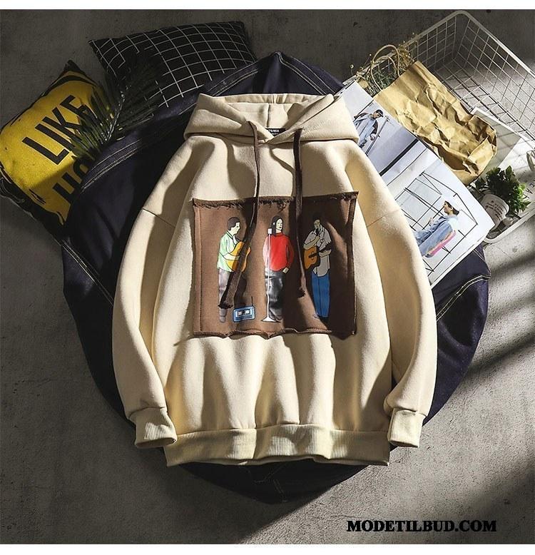 Herre Hættetrøjer Billige Frakke Brede Mænd Trend Elskeren Khaki