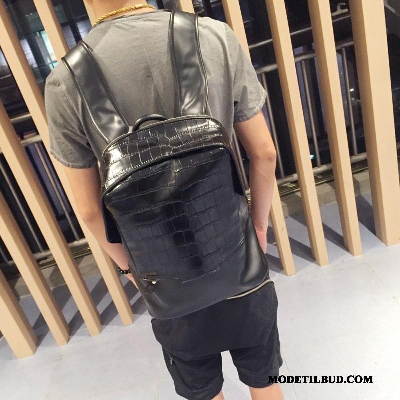 Herre Rygsække På Udsalg Mode Trend Skoletaske 2019 Casual Sort