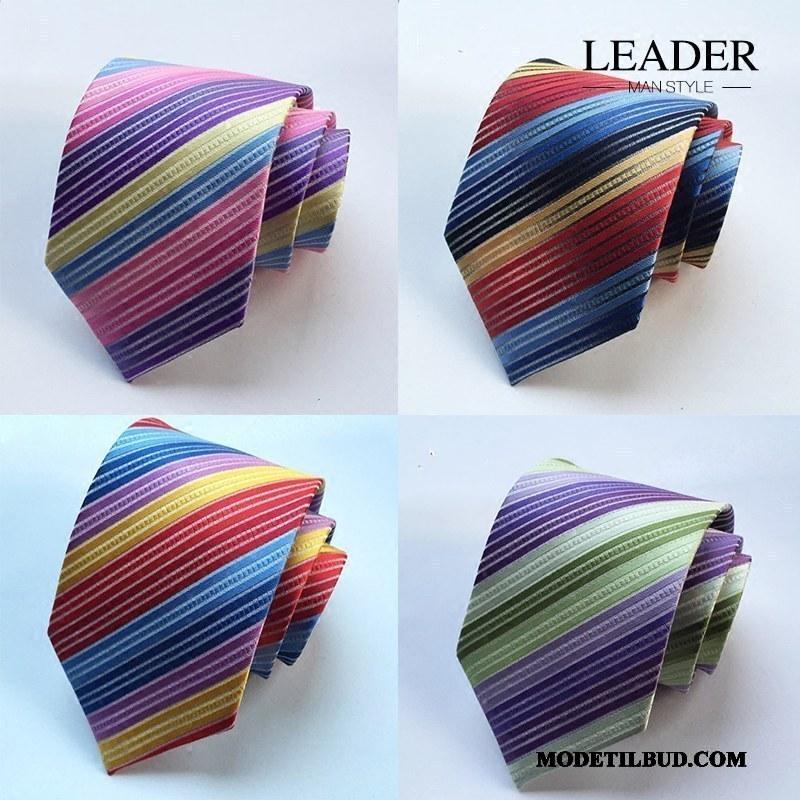 Herre Slips Salg Ægteskab Erhverv Kjole Banquet Business Farve Regnbue