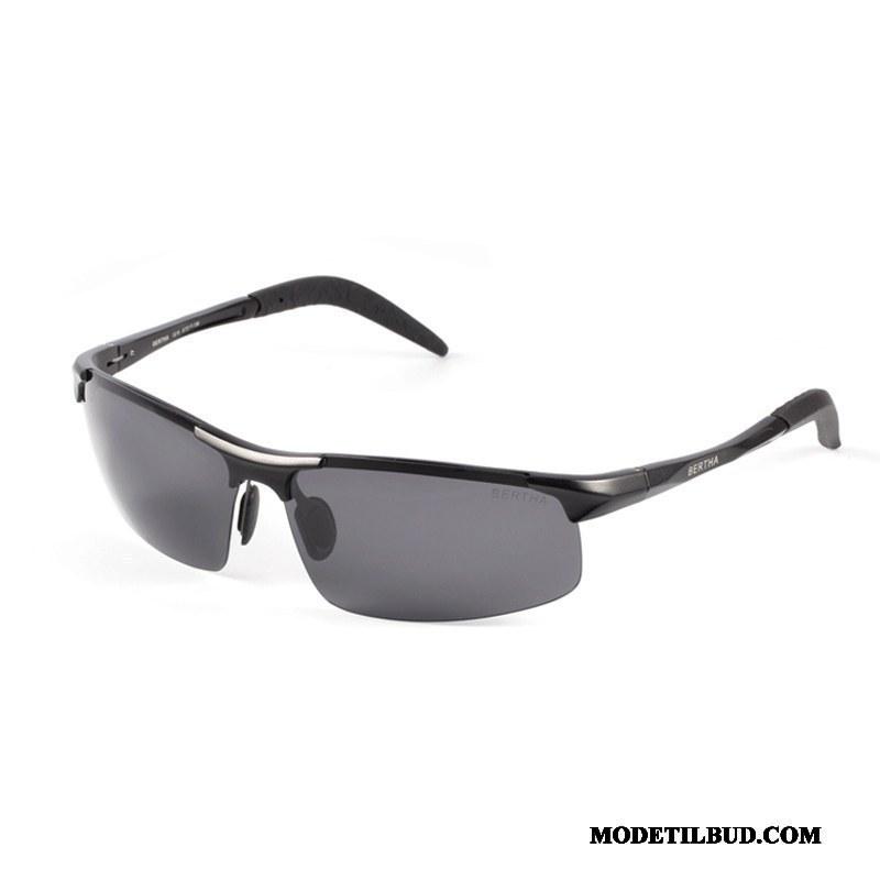 Herre Solbriller Billige Køre Natsyn Mænd Polarisator Personlighed Grå